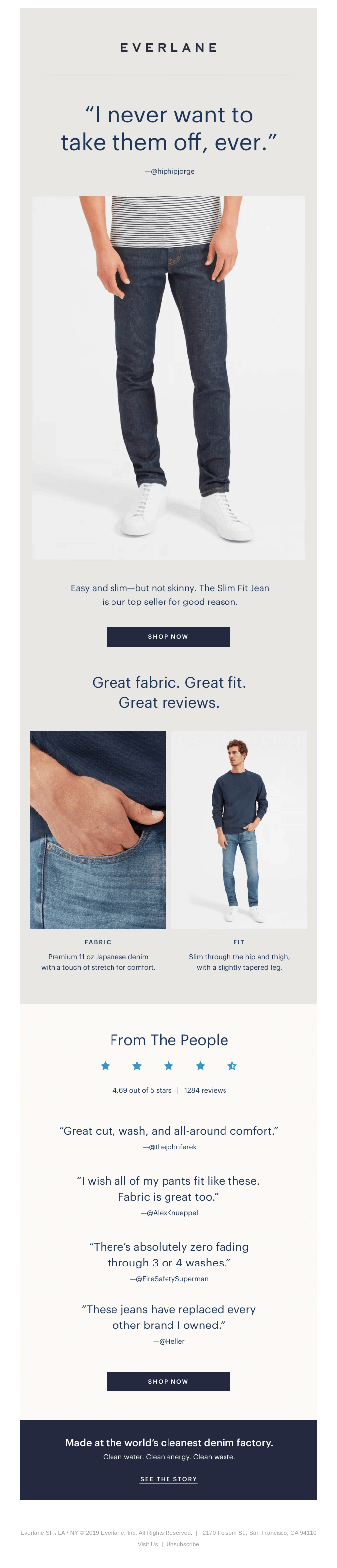 Meet Our Most Popular Jeans