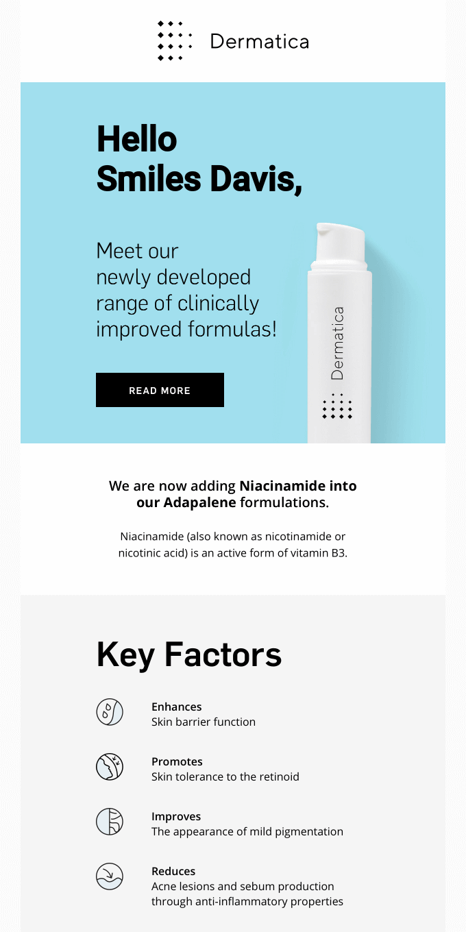 Meet our newly developed formula!