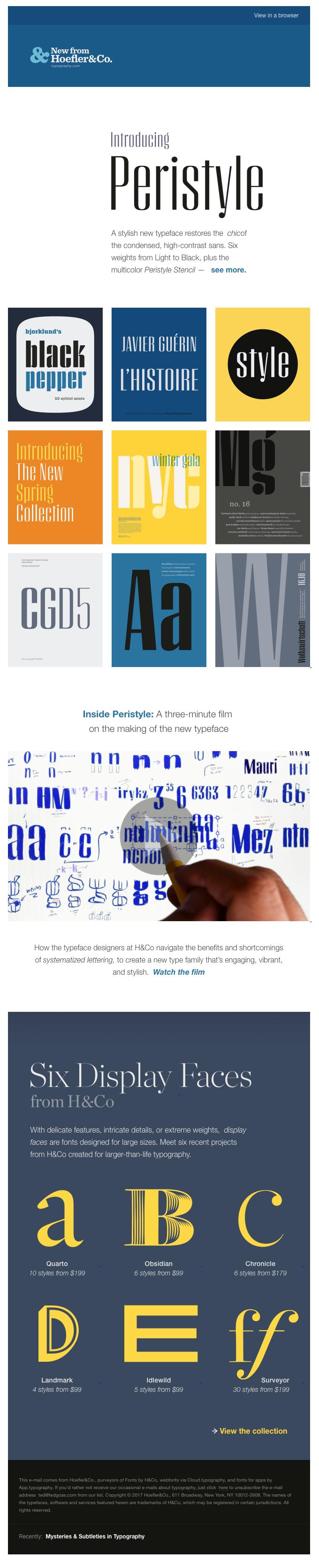 Meet Peristyle, a new sans serif