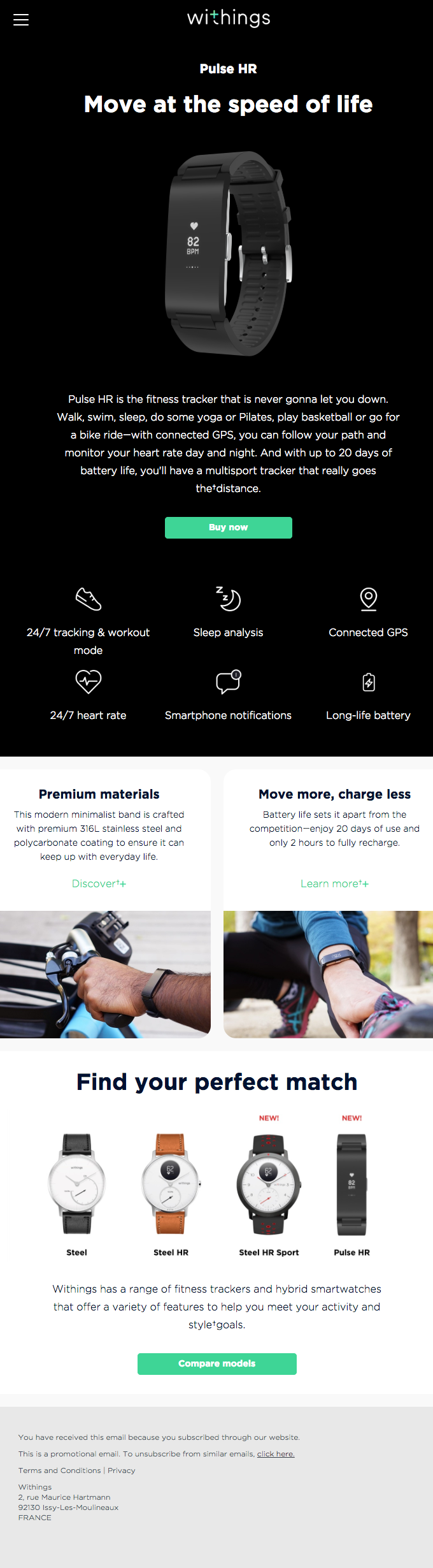 Meet Pulse HR, our newest multisport tracker