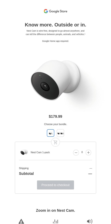 Meet the new Nest Cam
