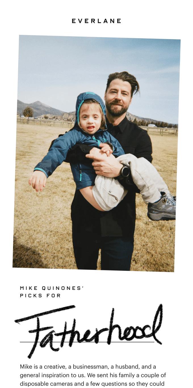 Mike's Picks For Fatherhood