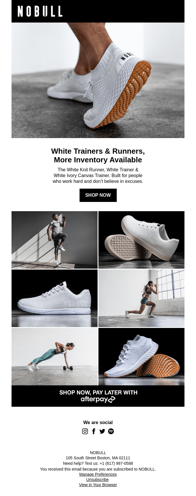 More inventory available, White Trainers & Runners.