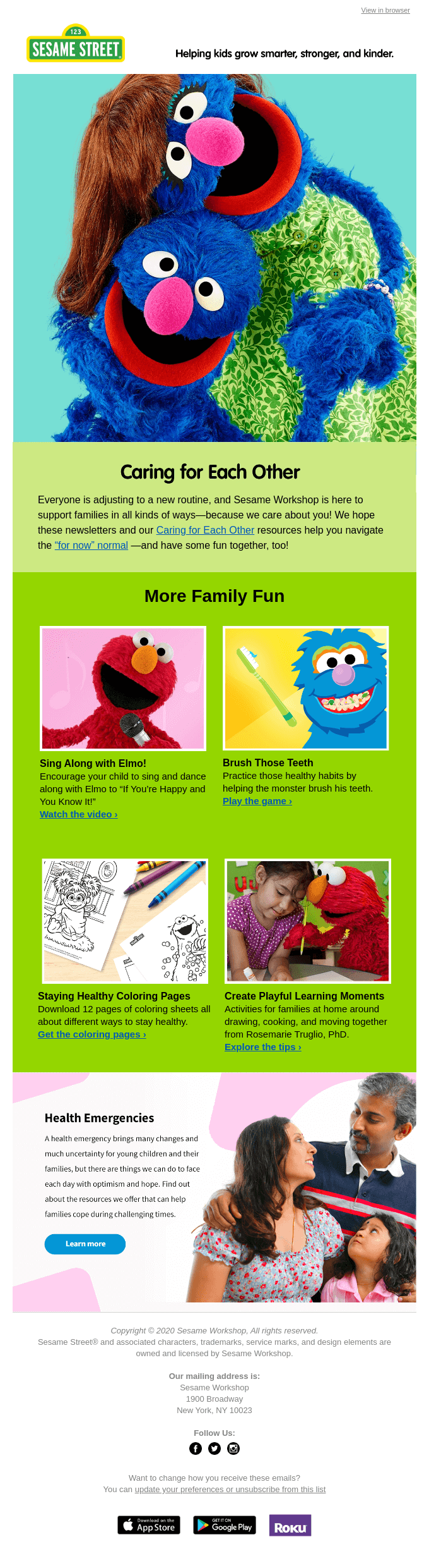 More Ways to Play and Learn with Sesame Street!