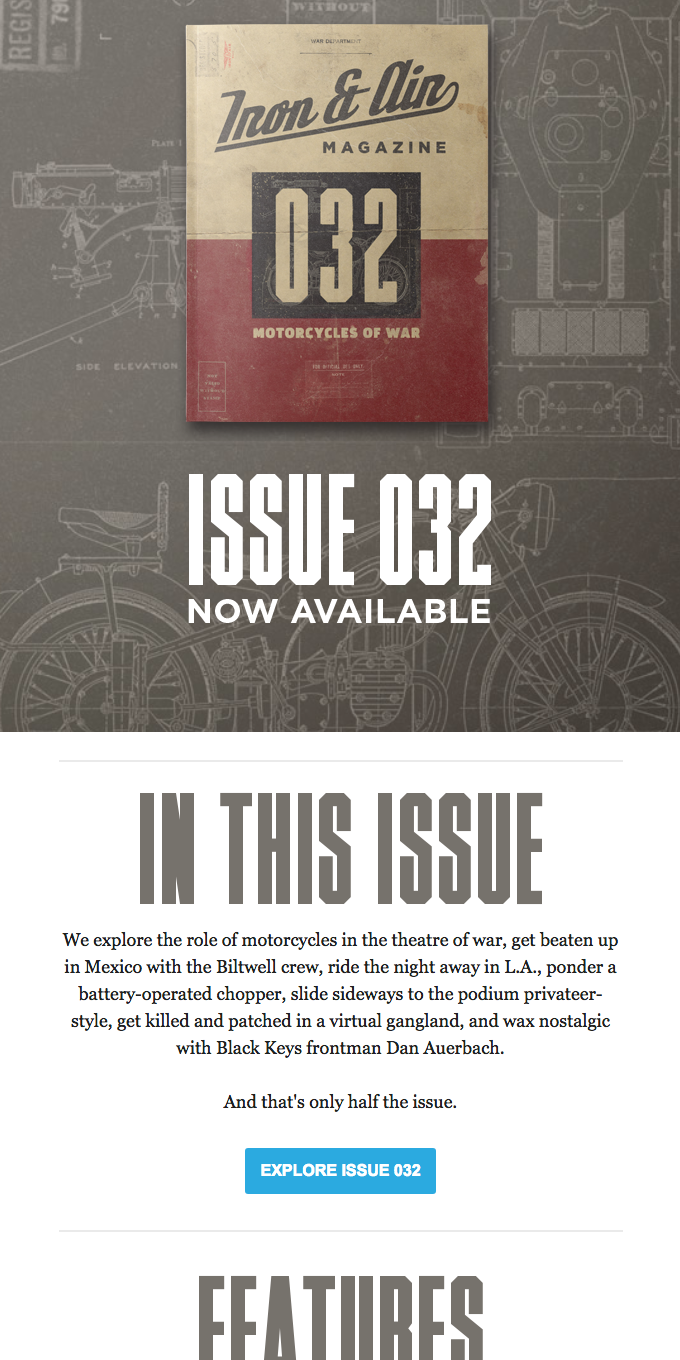 Motorcycles of War: Issue 032 Is Here