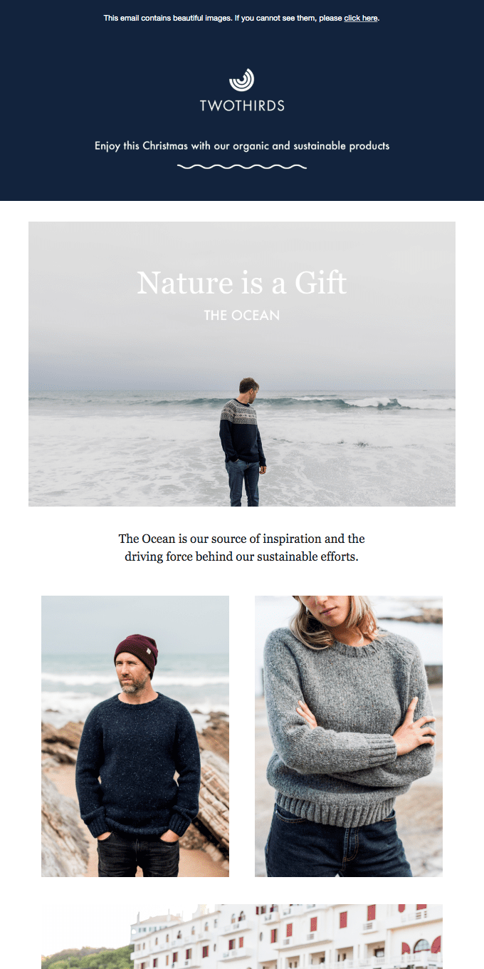 Nature is a Gift: Blue goods for this Christmas
