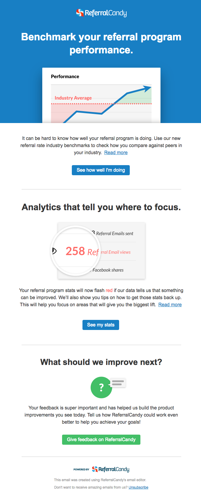 New: Benchmark your referral program with improved analytics