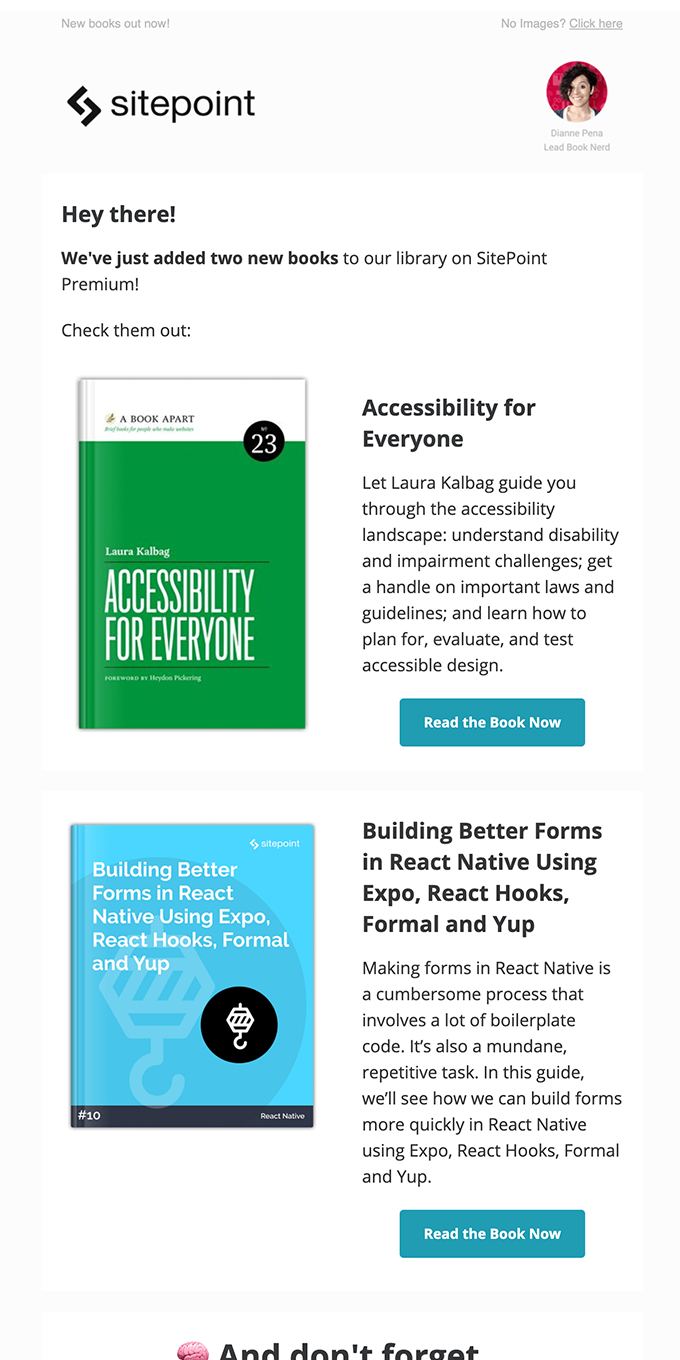 New Books! Accessibility for Everyone + React Forms
