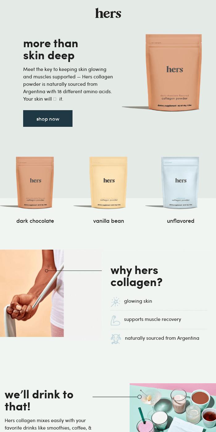 NEW: collagen powder