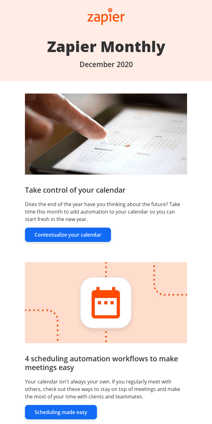 New in December: Take control of your calendar next year, 2 updates, and 10 new apps