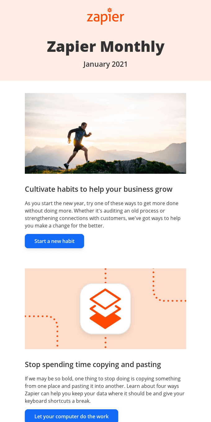 New in January: Build new habits, 1 update, and 13 new apps