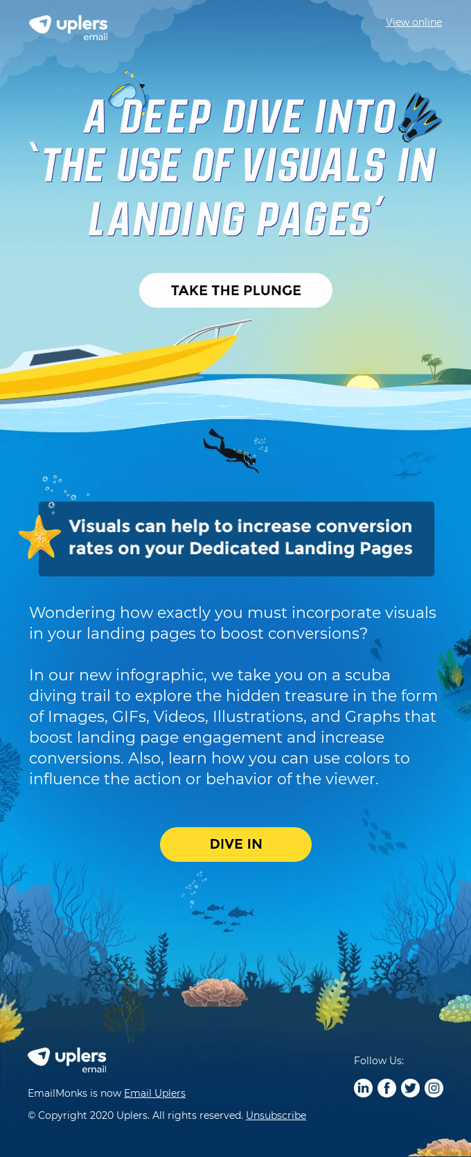 [New Infographic] How to optimally use visuals in landing pages?
