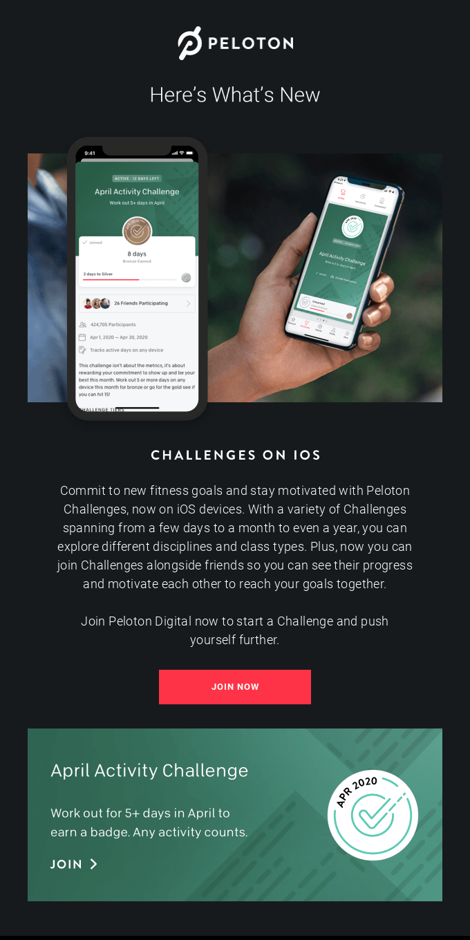 New to the Peloton App: Challenges and More