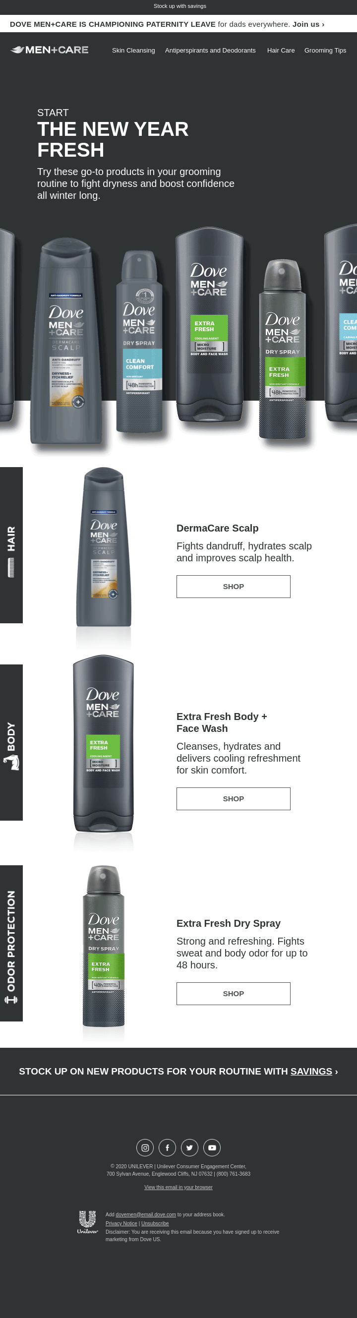 New Year, new grooming routine