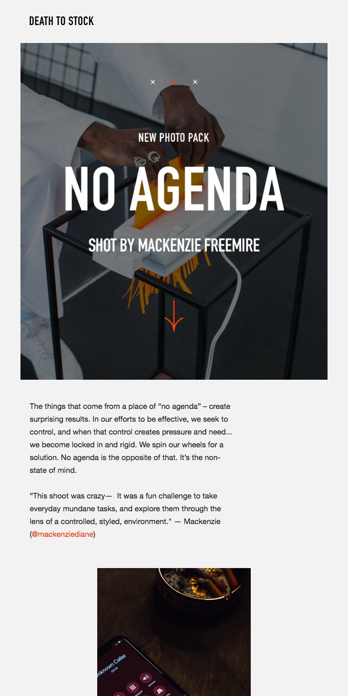 NO AGENDA • Photo pack by Death to Stock