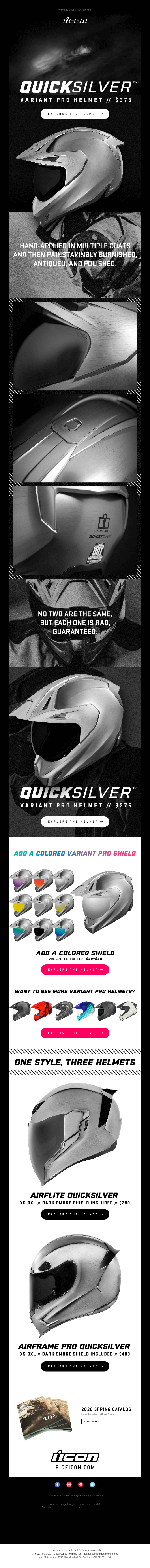 No Two Are The Same - The Variant Pro Quicksilver