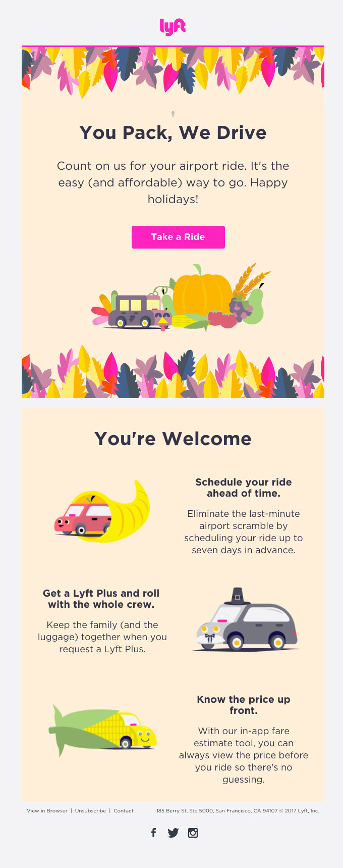 On-Demand Airport Rides from Lyft