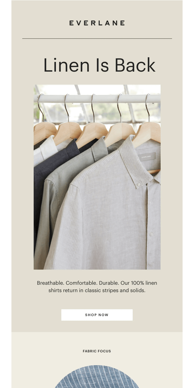 Our Linen Shirts Have Returned