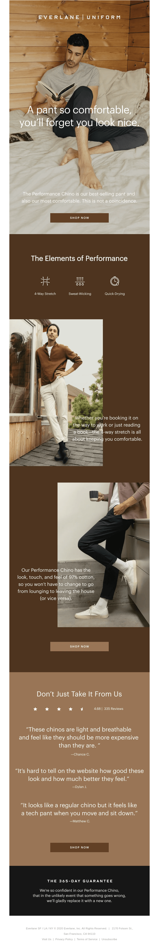 Our Most Comfortable Pant