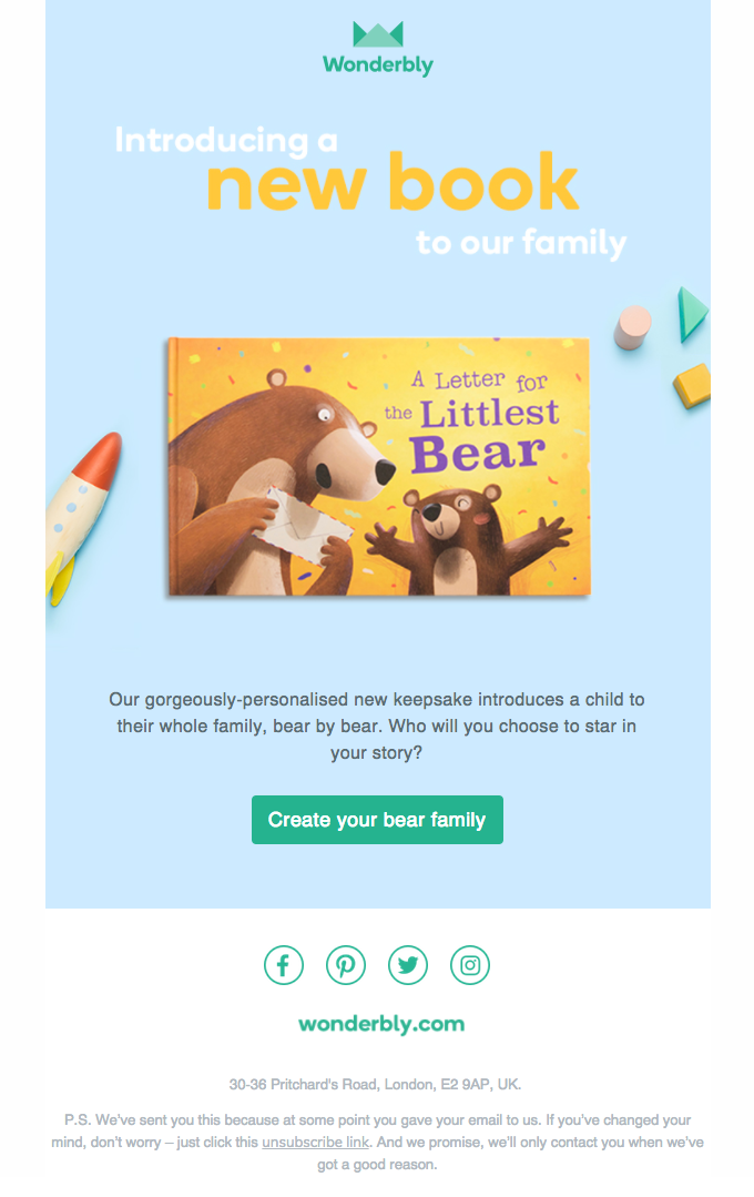 Our NEW book, A Letter for the Littlest Bear, has their name all over it