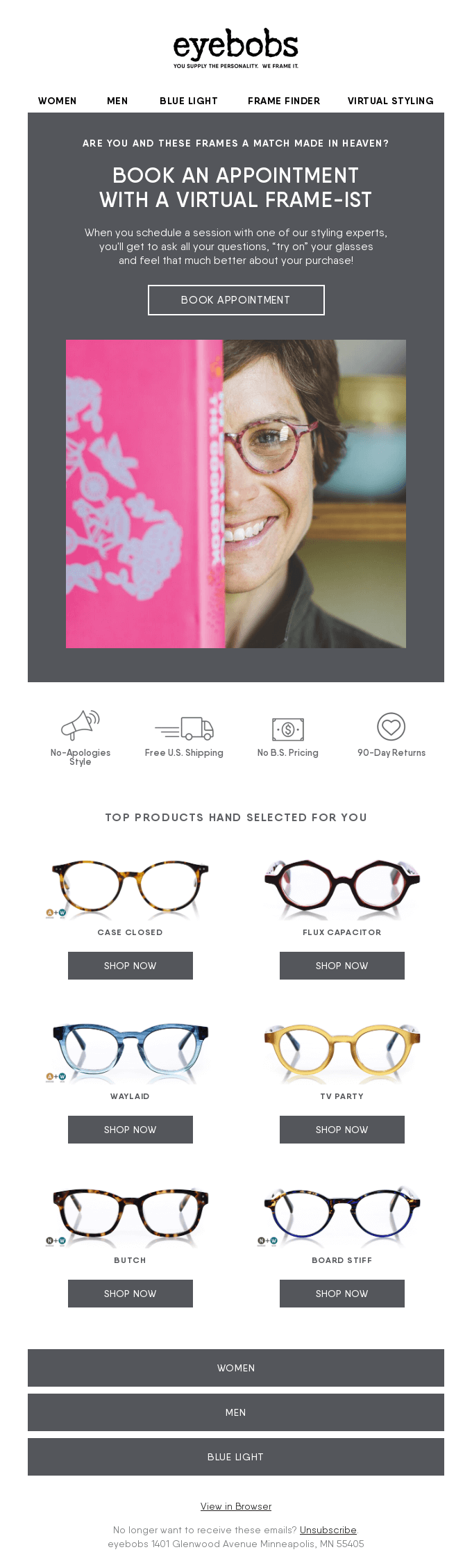 Our Virtual Frame-ists = Your Personal Stylist