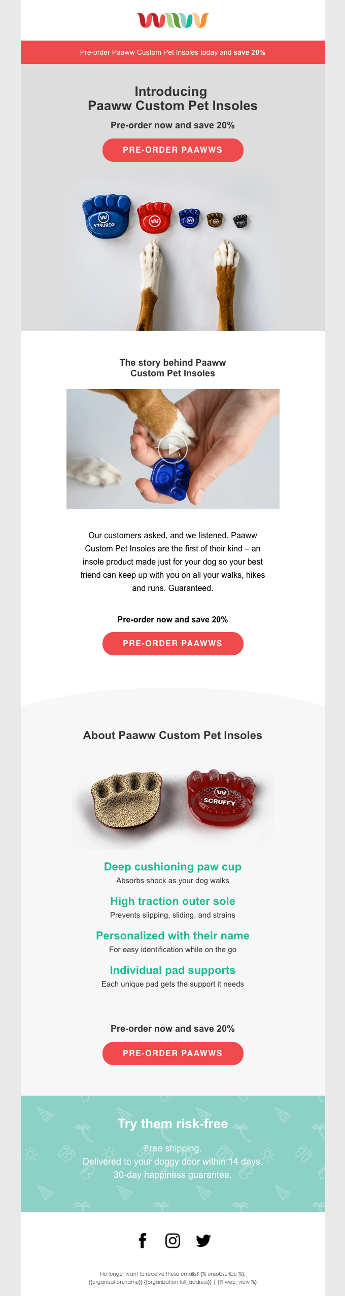 Paaww: the first insole made for dogs