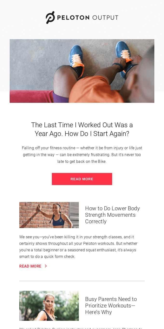 Parenting Workout Hacks, Restarting Your Routine, and How Peloton Can Help You Train For a 100 Mile Race