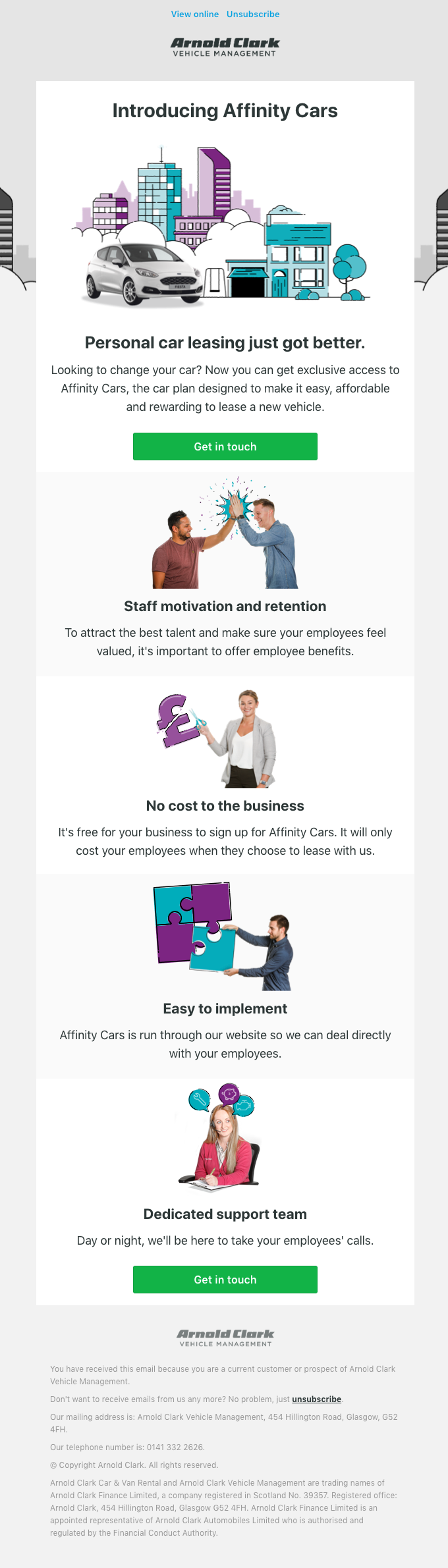 Personal car leasing for your employees