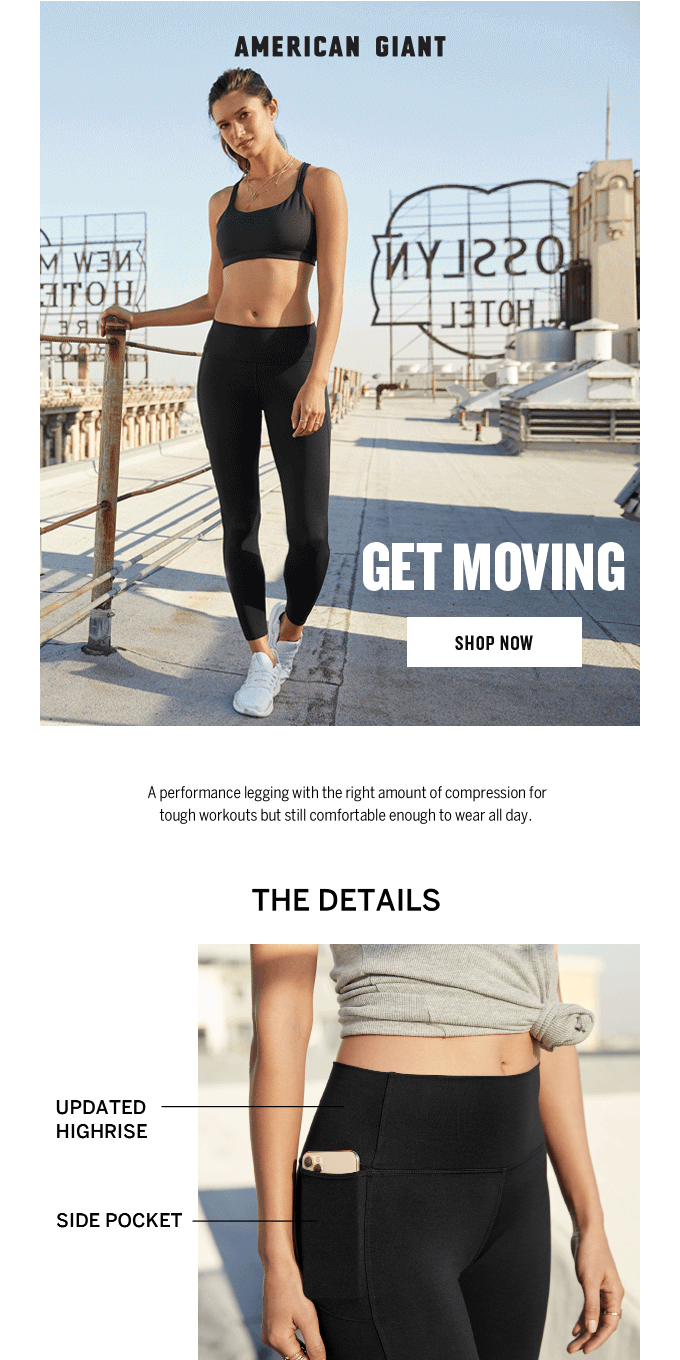 Power Legging: Made To Move