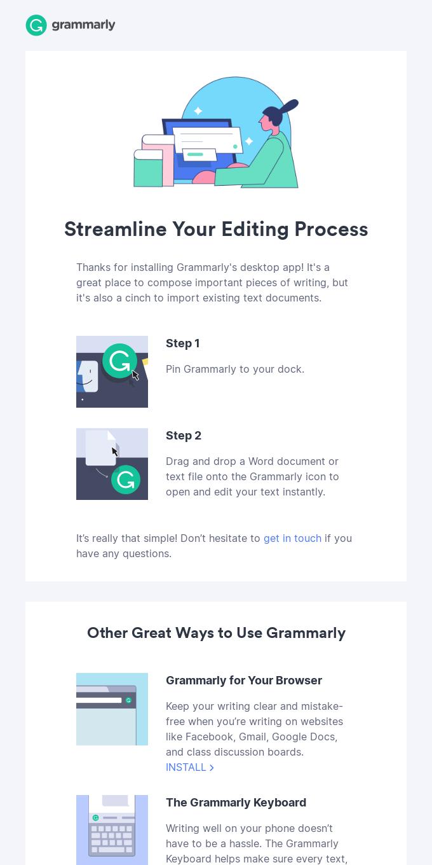 Pro tip for using Grammarly's desktop app
