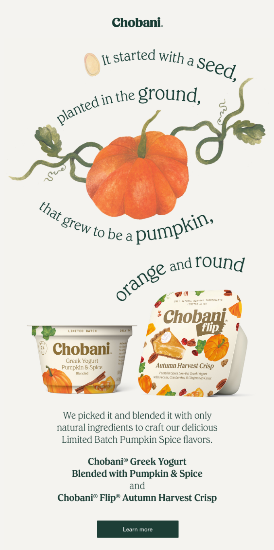 Pumpkin. Is. Back.
