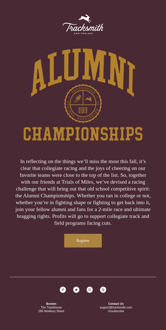 Race the Alumni Championships