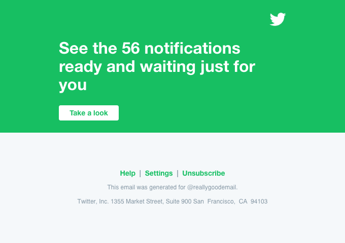 @reallygoodemail, check out the notifications you have on Twitter