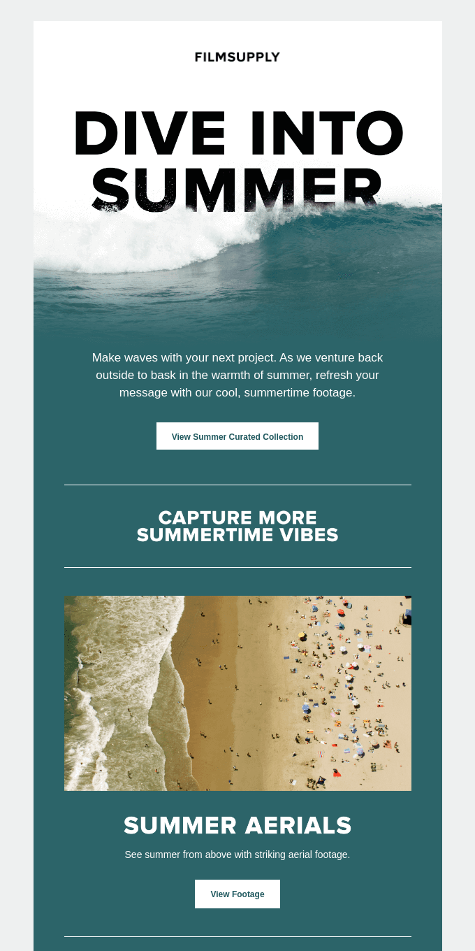 Refresh your project with our summertime footage