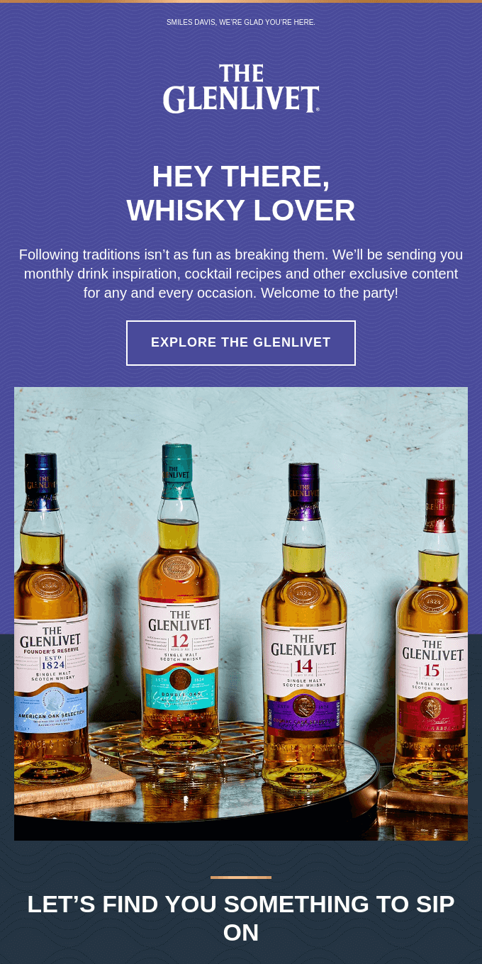 Scotch news is the best kind of news. Welcome!
