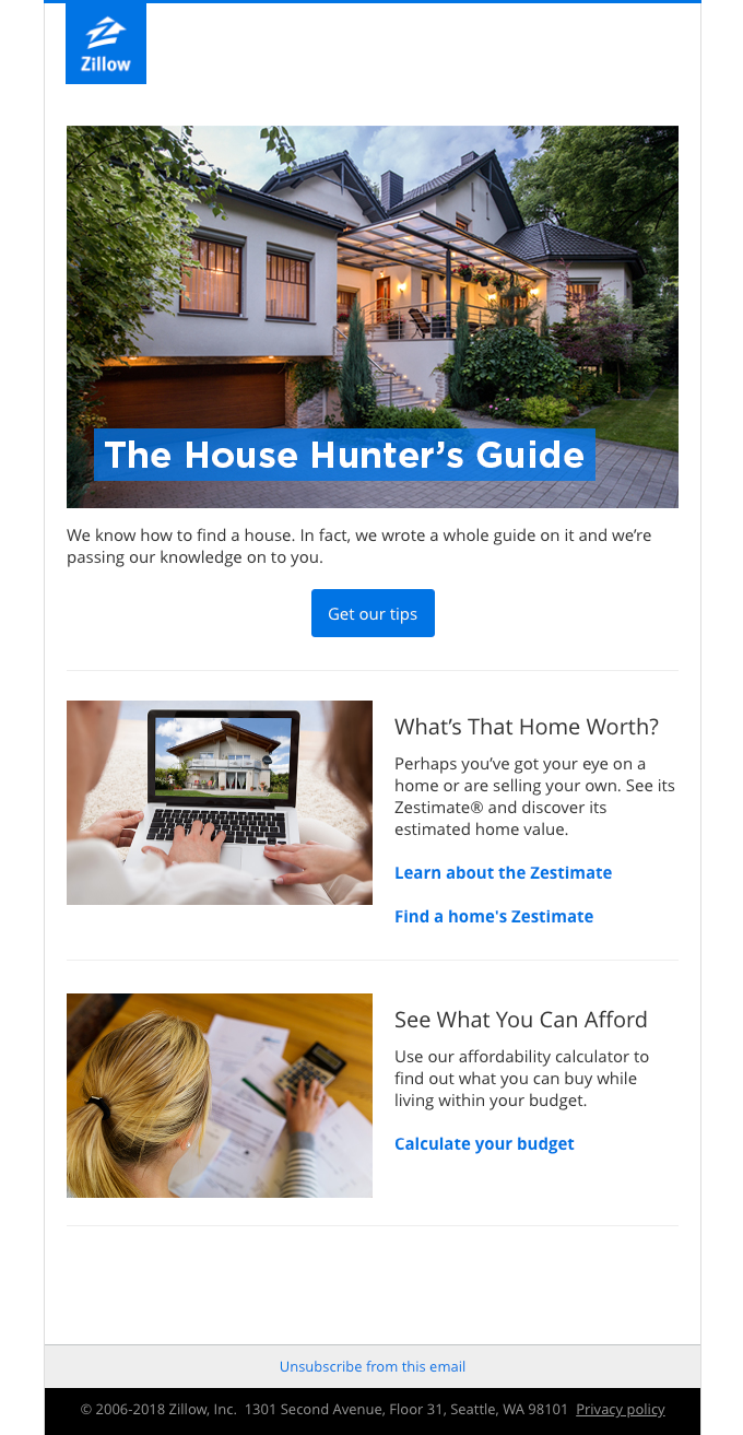 Search tips for house hunters