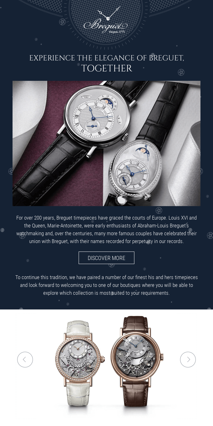 Season's Greetings from Breguet