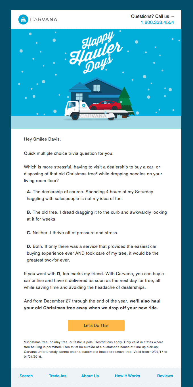 Skip the Car Dealership this Holiday