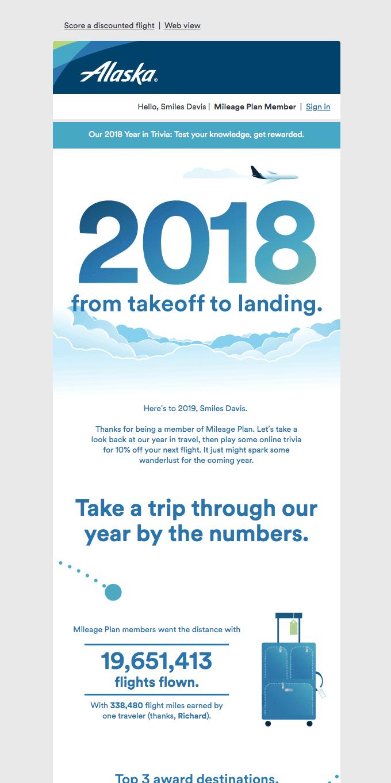 Smiles Davis, let's take a trip through 2018 together.