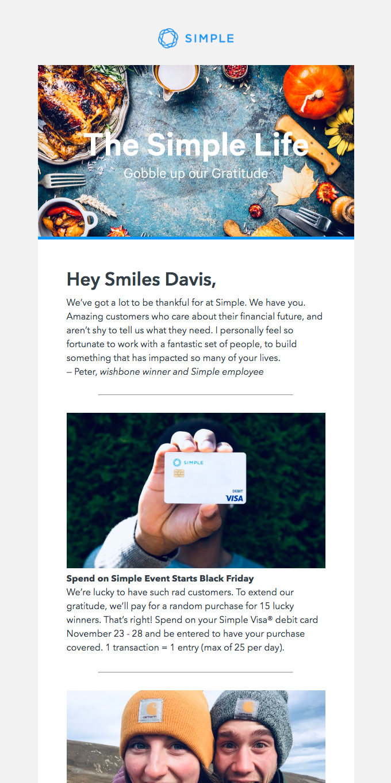 Smiles Davis: Make room for budgeting this Thanksgiving