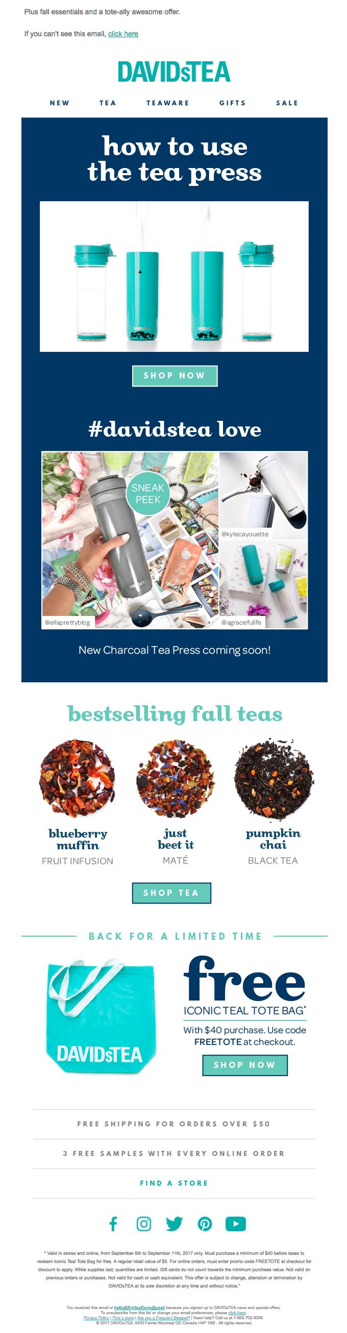 Sneak peek: New Tea Press colour inside!