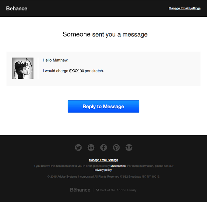 Someone Sent You a Message