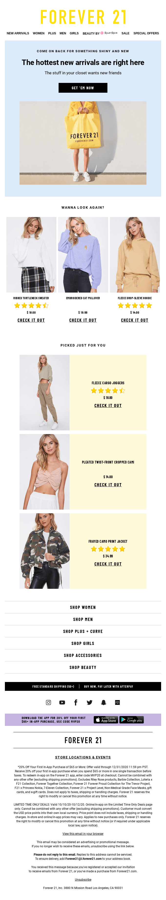 Spice up your last haul with something new