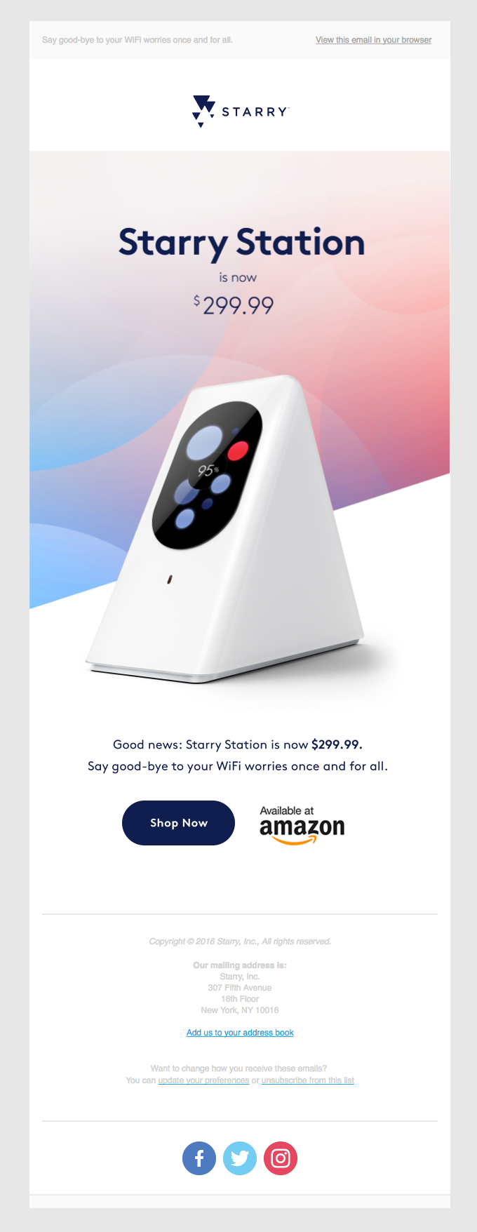 Starry Station is now $299