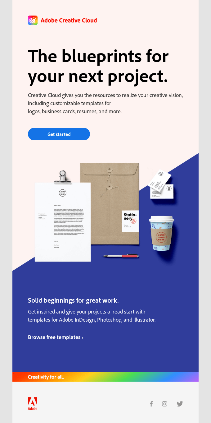 Start your next new idea with a free template