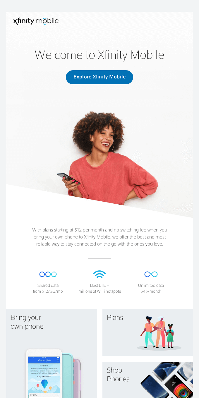 Stay connected, everywhere.