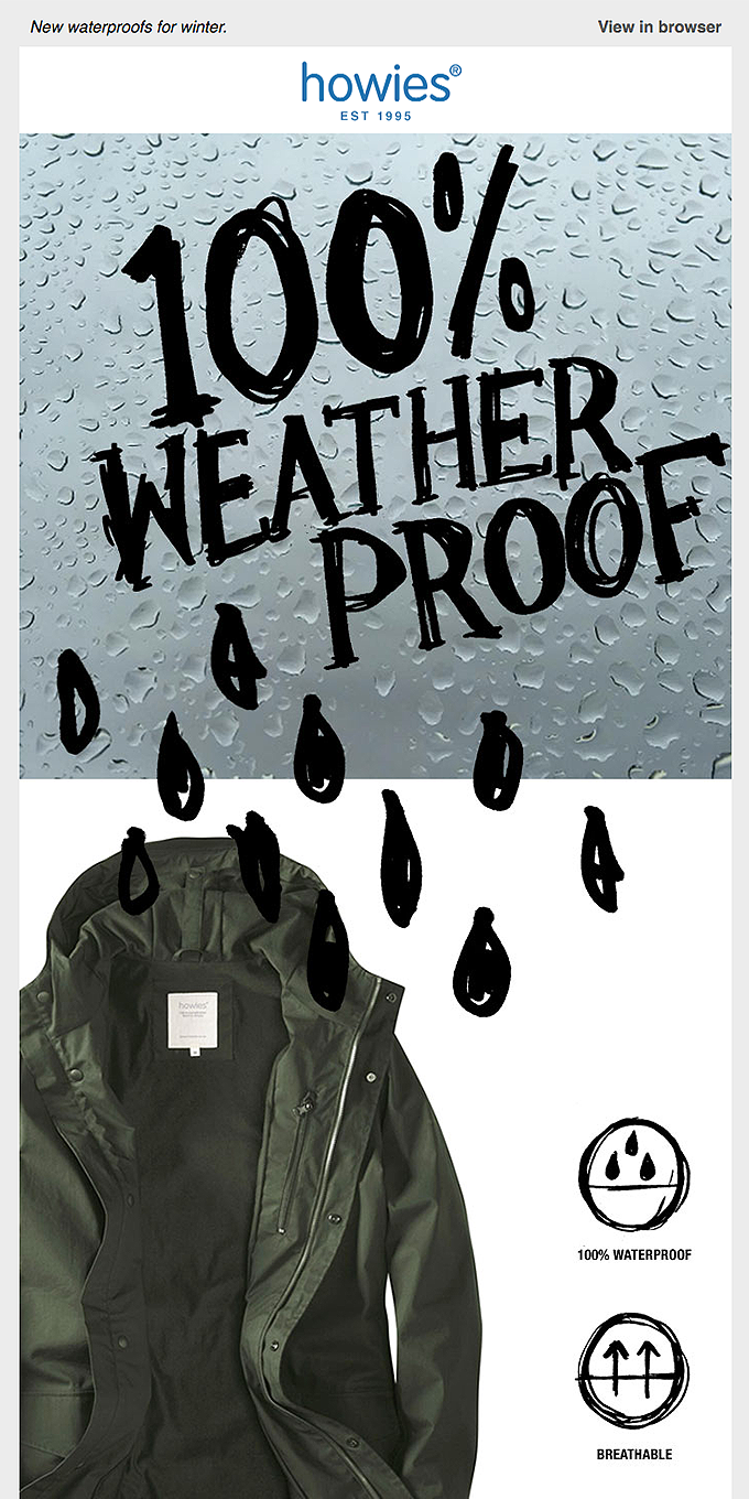 Stay Dry This Winter
