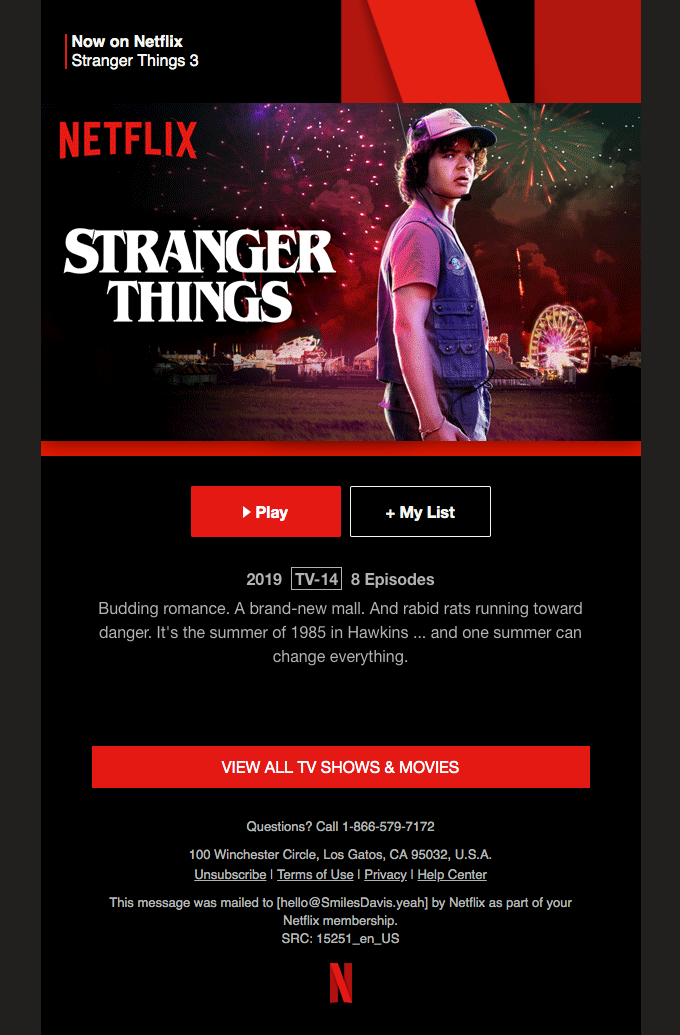 Stranger Things 3 is now on Netflix