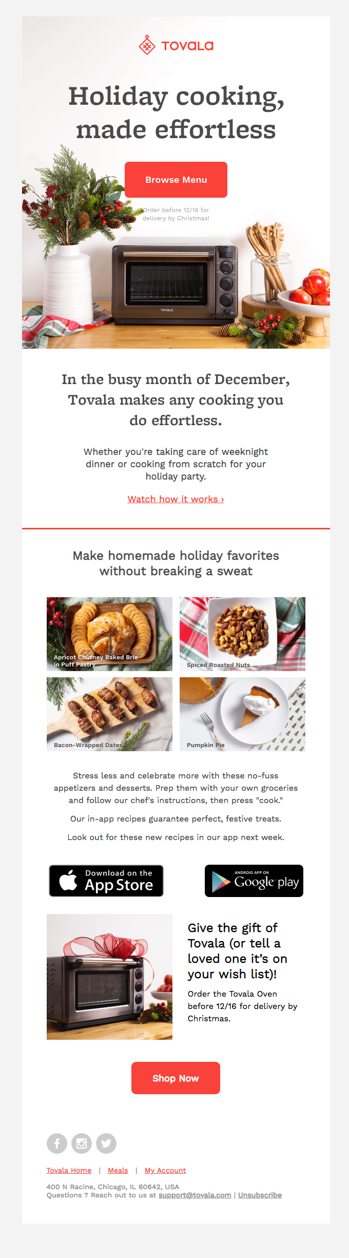 Stress Less. Celebrate More. 4+ Free Festive Recipes. 🎄