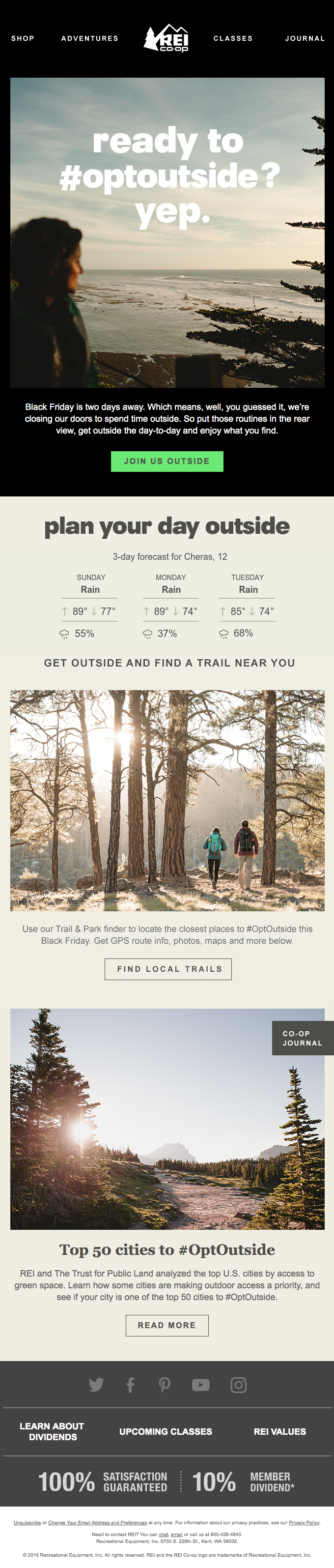 Switch Things Up on Black Friday and #OptOutside